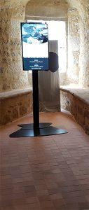 Château de dinan bornes interactives