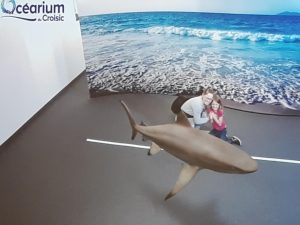 Ocearium realite augmentée