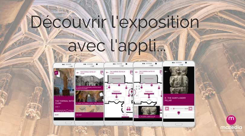 Musée de Cluny application mobile
